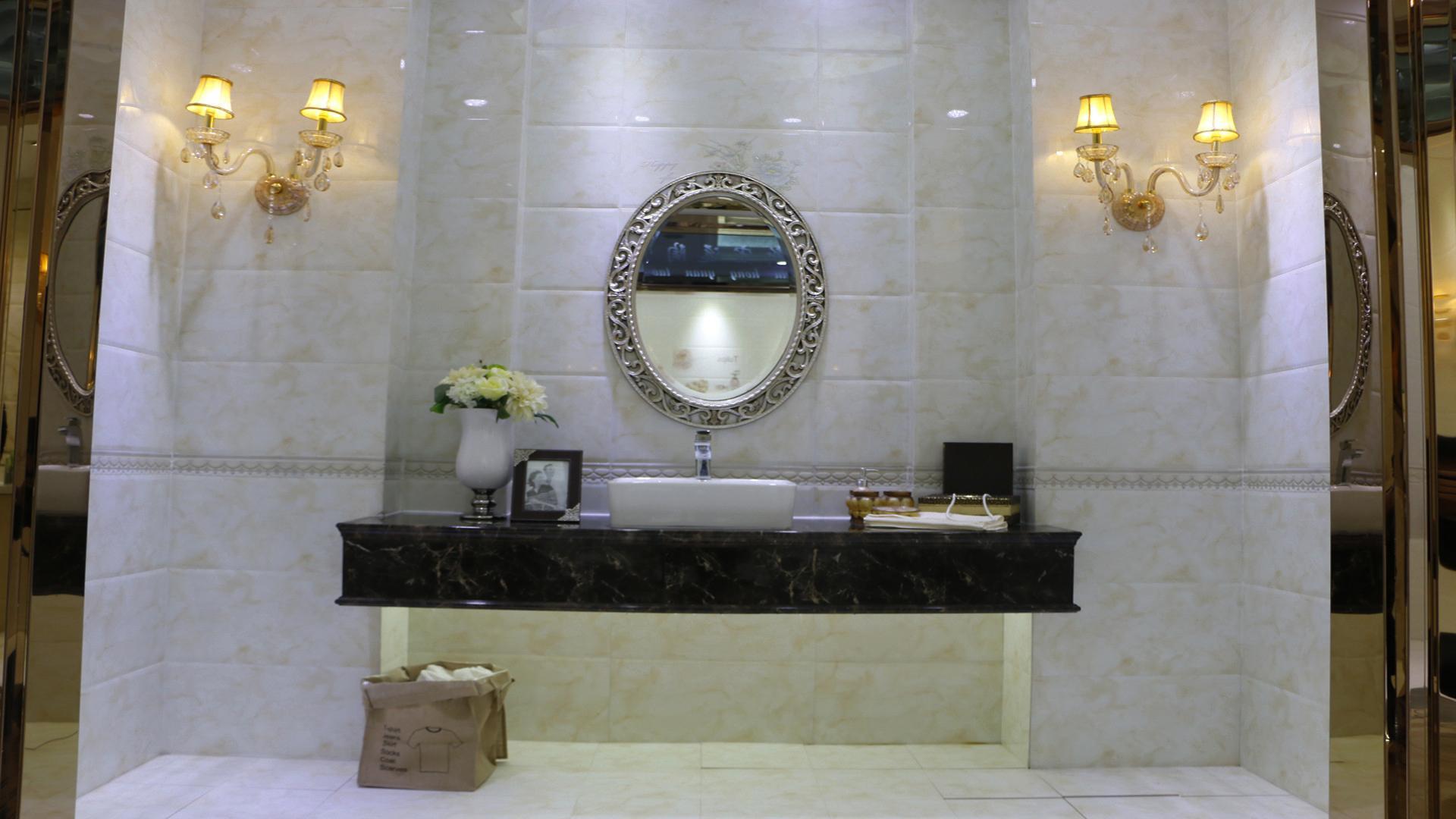 69107 陶瓷 瓷砖 高级5D喷墨 卫生间内墙砖