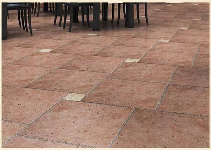 【佛山瓷砖】仿古砖茶楼酒店工程瓷砖客厅地面防滑瓷砖600*600