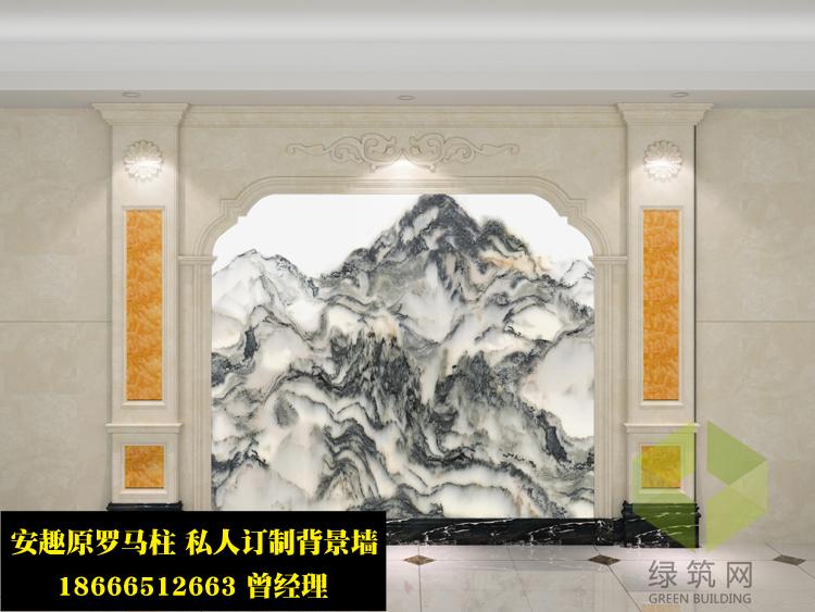 河南濮阳3D浮雕电视墙厂家定制热销