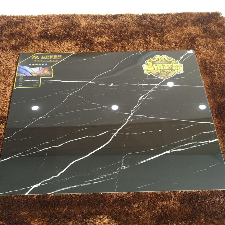黑白根 800*800 600*600 喷墨全抛釉 佛山瓷砖 客厅地板砖 地面砖