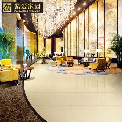 佛山600抛光砖黄白聚晶清仓处理、客厅商场地板砖