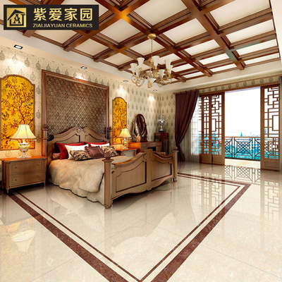 佛山工厂直销800客厅地板砖、防滑耐磨抛光砖白普拉提、单柜特请