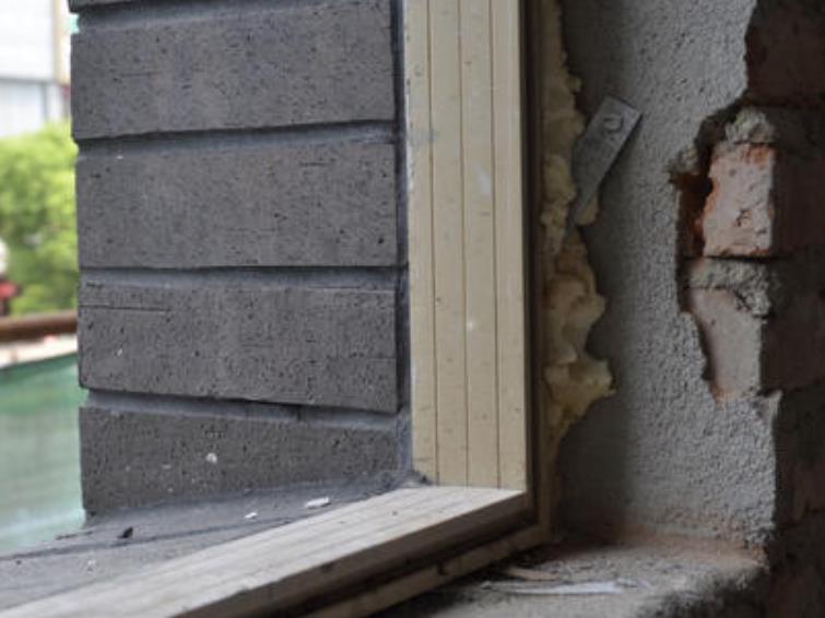 門窗框防水填縫料的施工方法